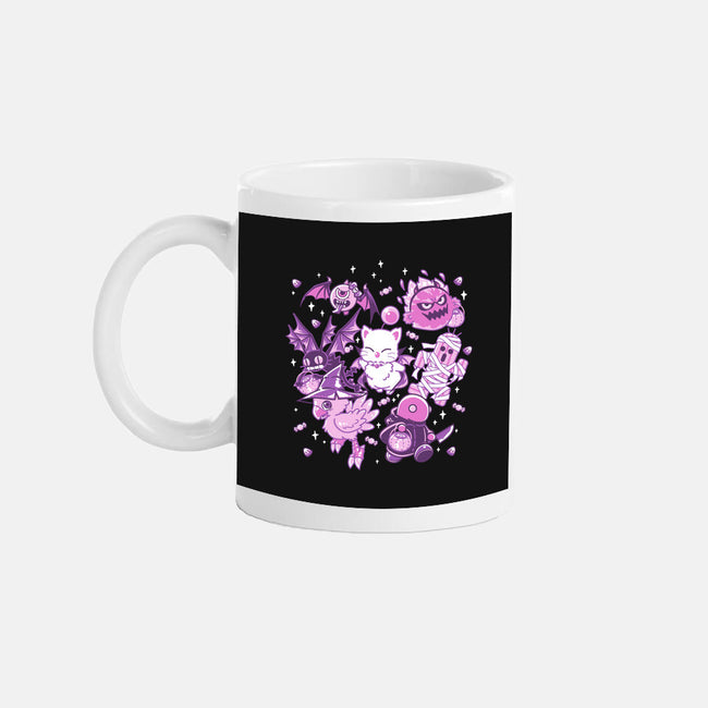 Trick or Treaters-none glossy mug-PixelEyeBat
