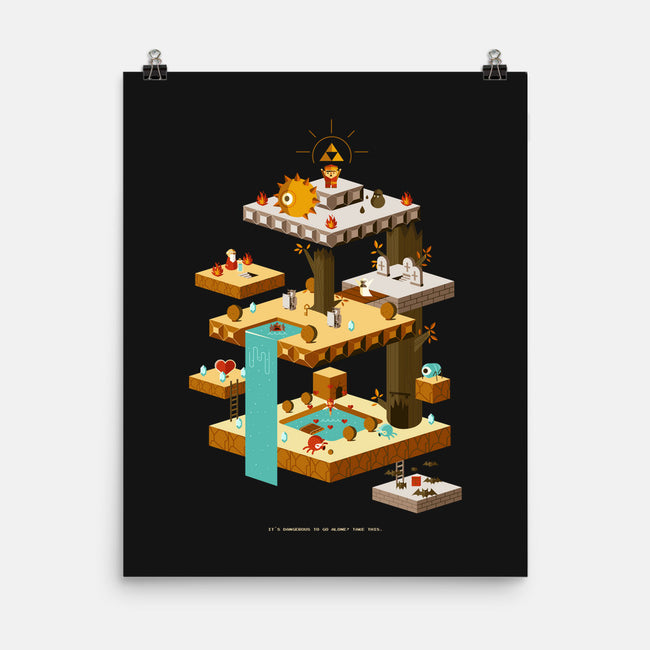 Triforce Victory-none matte poster-jorshpena