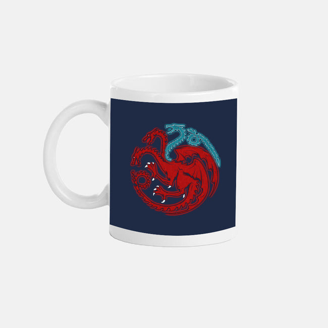 Trinity of Fire and Ice-none glossy mug-LAZARE