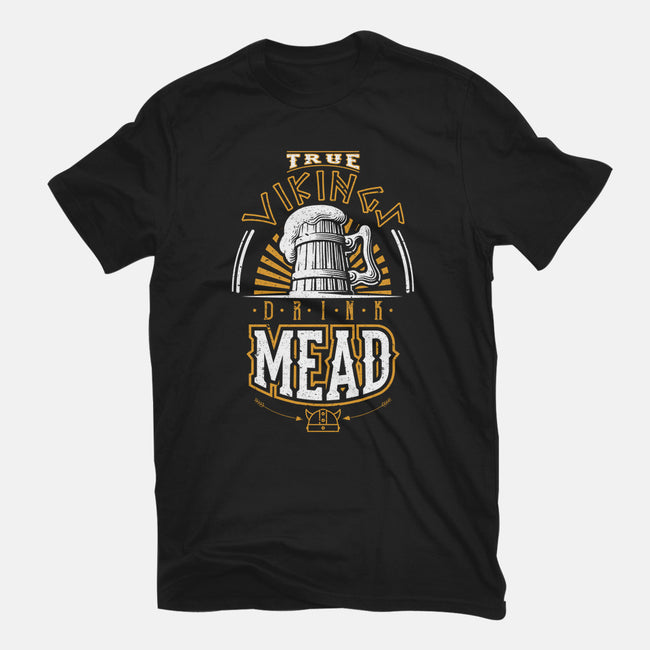 True Vikings Drink Mead-mens heavyweight tee-viktoresku