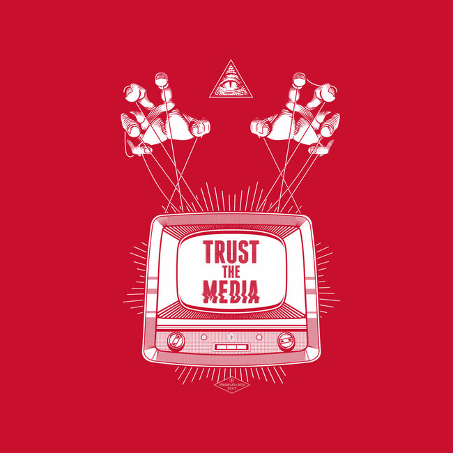 Trust the Media-mens heavyweight tee-department