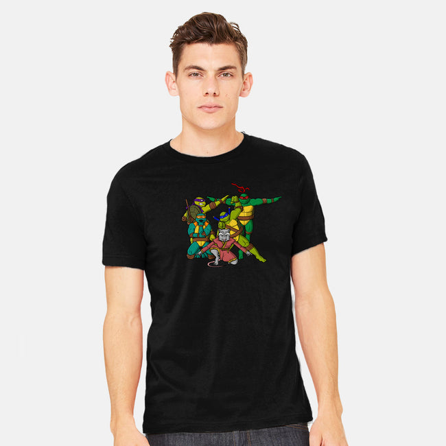 Turtle Force-mens heavyweight tee-MarianoSan