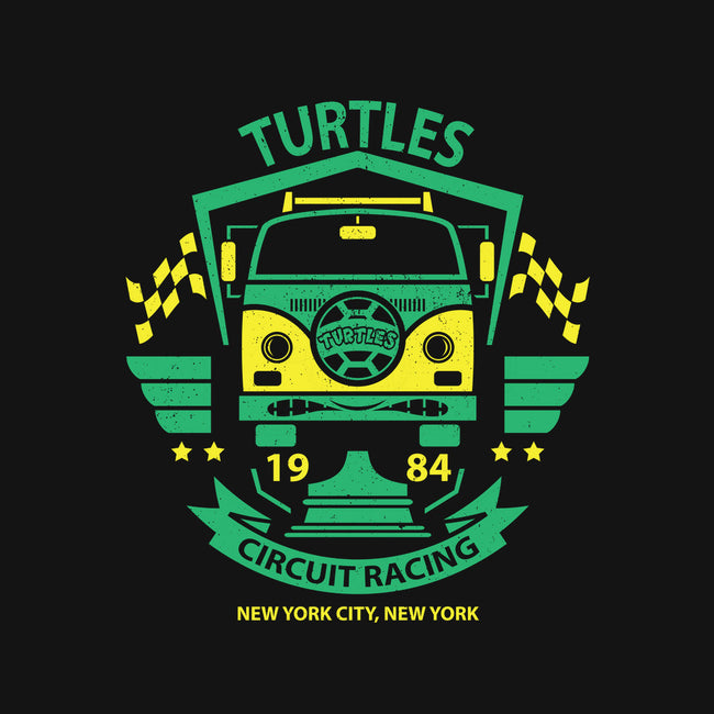Turtles Circuit Racing-none glossy sticker-jrberger