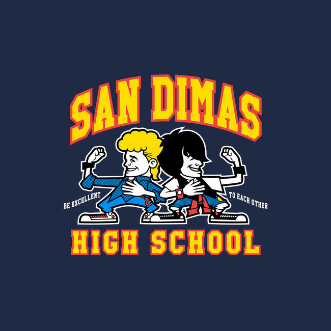 San Dimas High School-mens heavyweight tee-Nemons