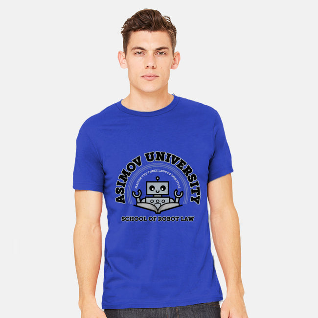 School of Robot Law-mens heavyweight tee-MJ