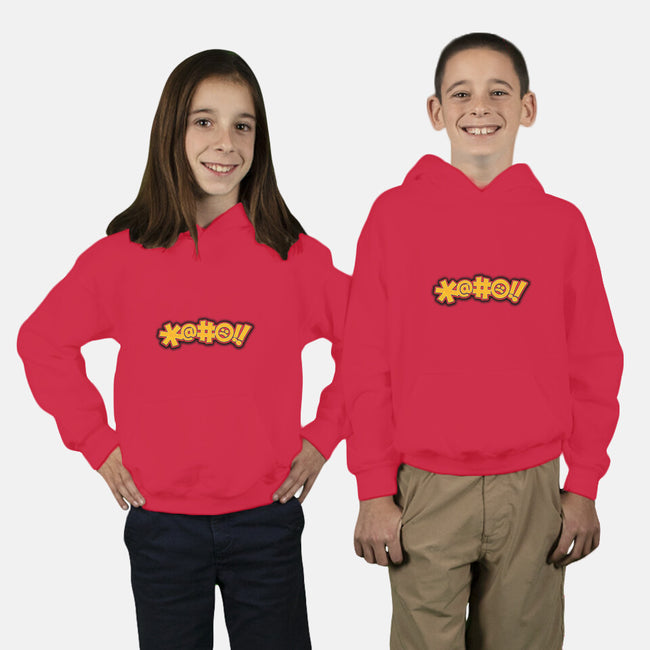 Sci-Fi Cussing-youth pullover sweatshirt-Captain Ribman