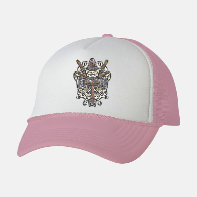 Serenity Valley Memorial-unisex trucker hat-Arinesart