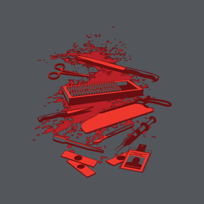 Serial Killer Toolbox-womens basic tee-Matt_Dearden