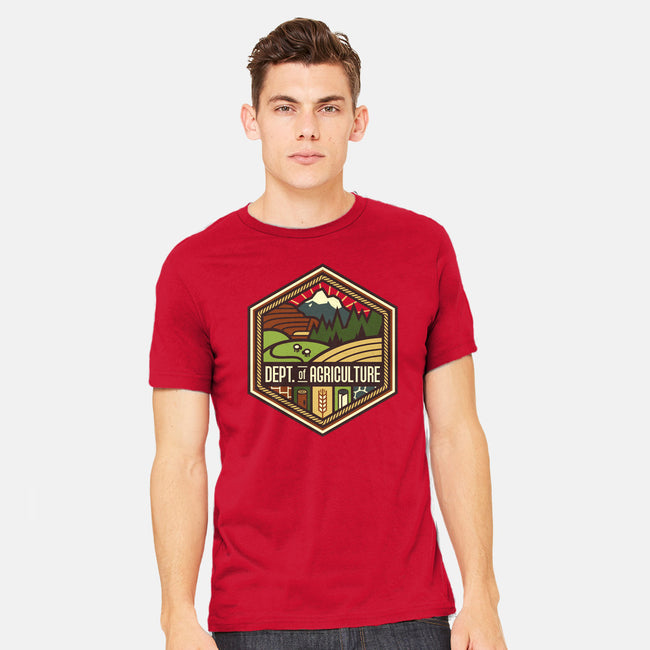 Settlements Welcome-mens heavyweight tee-chocopants