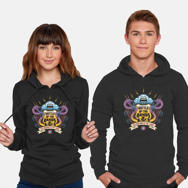 Sex Bob-Omb VS The Twins-unisex pullover sweatshirt-Bamboota