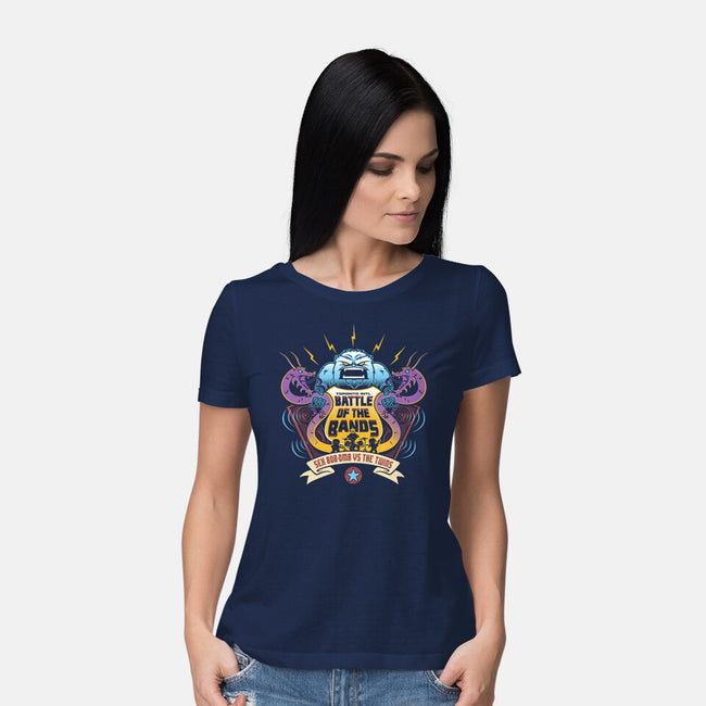 Sex Bob-Omb VS The Twins-womens basic tee-Bamboota