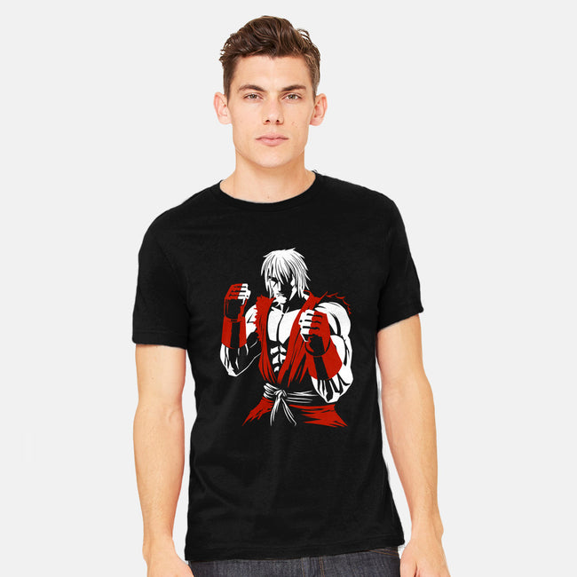 Shadow Dragon-mens heavyweight tee-Fuacka
