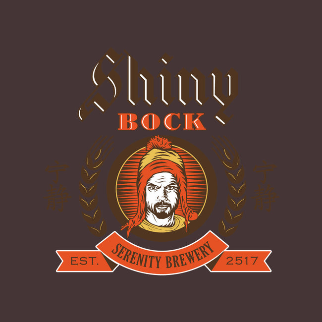 Shiny Bock Beer-womens fitted tee-spacemonkeydr