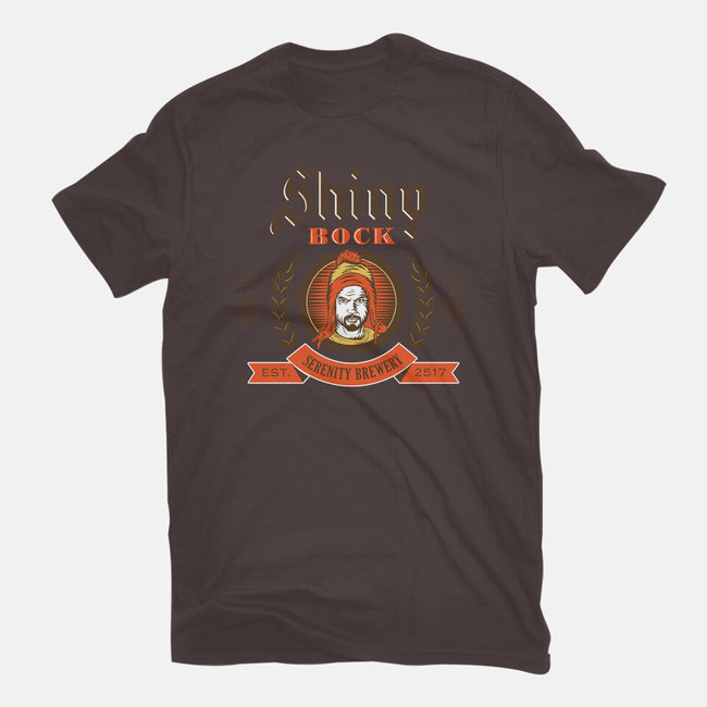 Shiny Bock Beer-mens premium tee-spacemonkeydr