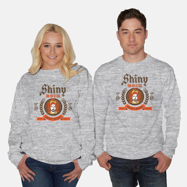 Shiny Bock Beer-unisex crew neck sweatshirt-spacemonkeydr