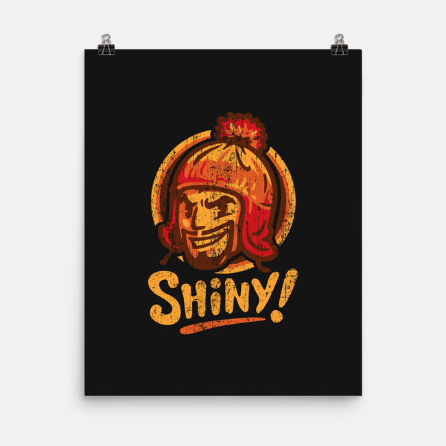 Shiny Hat-none matte poster-WinterArtwork