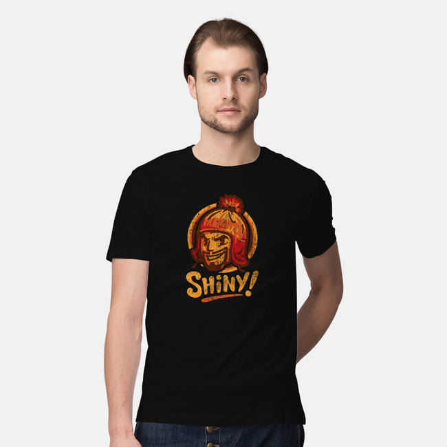 Shiny Hat-mens premium tee-WinterArtwork