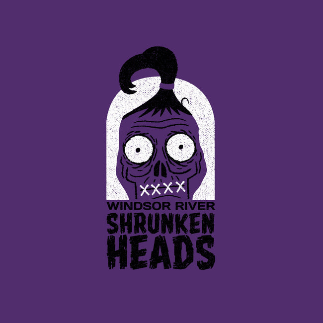 Shrunken Heads-none glossy sticker-Gimetzco!