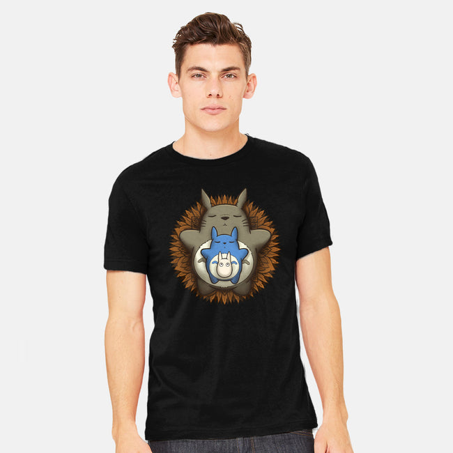 Sleepy Spirit Mandala-mens heavyweight tee-IdeasConPatatas
