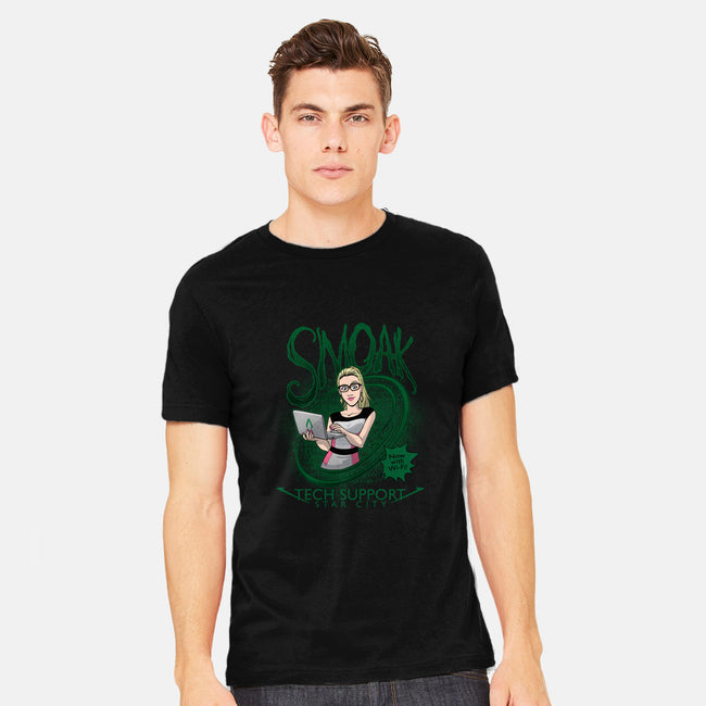 Smoak IT-mens heavyweight tee-DoOomcat