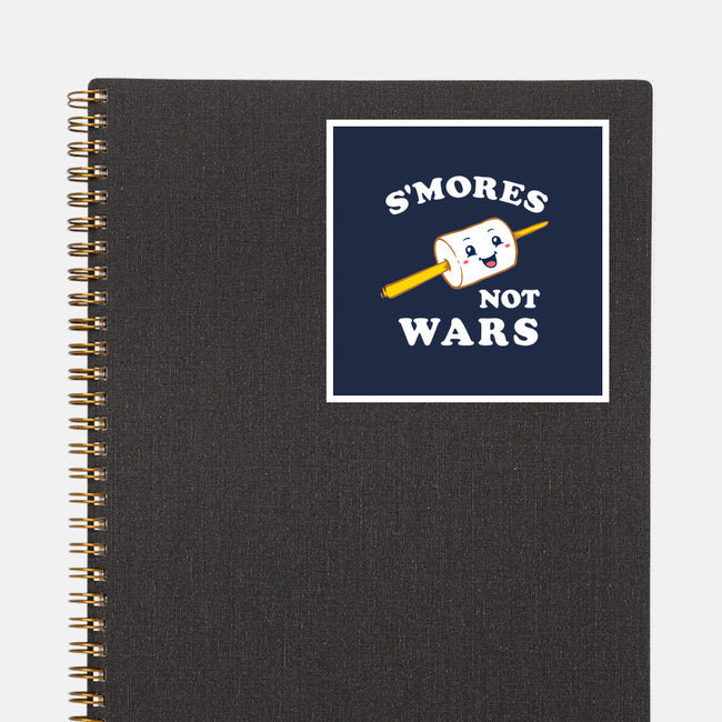 S'mores Not Wars-none glossy sticker-dumbshirts
