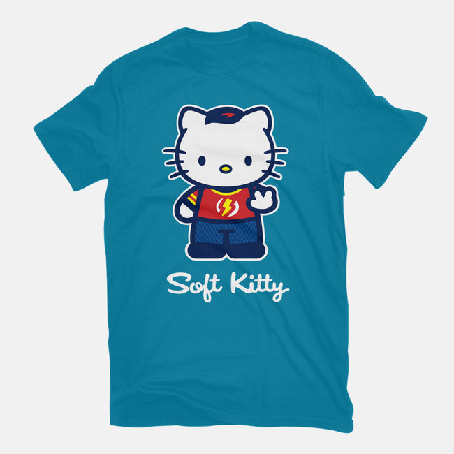Soft Kitty-unisex crew neck sweatshirt-WinterArtwork