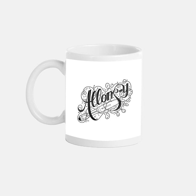 Sonic Allons-y-none glossy mug-tillieke