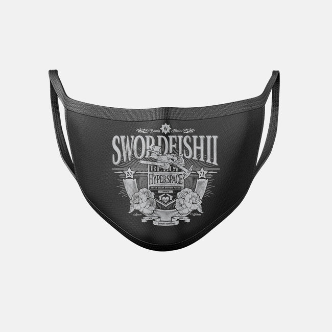 Space Western-unisex basic face mask-CoD Designs