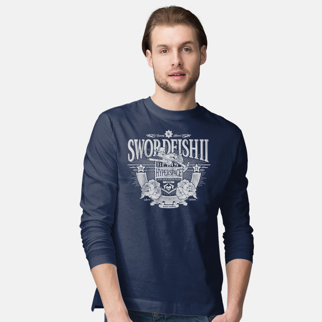 Space Western-mens long sleeved tee-CoD Designs
