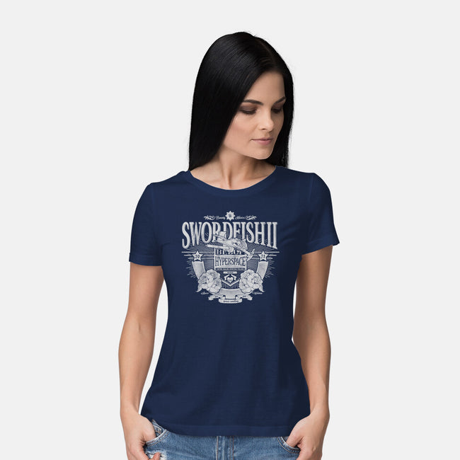 Space Western-womens basic tee-CoD Designs