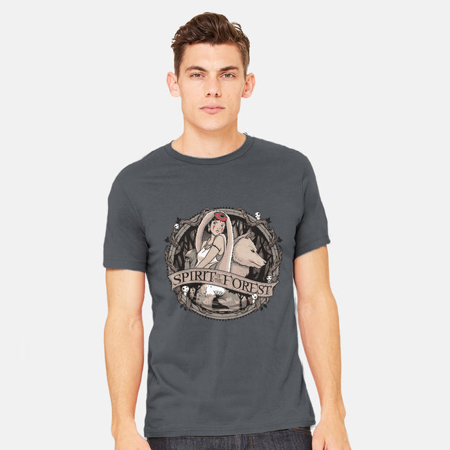 Spirit of the Forest-mens heavyweight tee-StudioM6