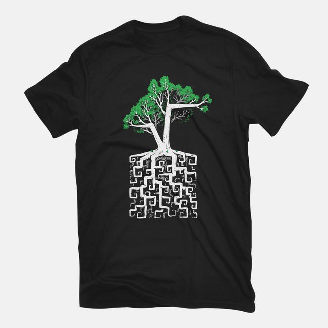 Square Root-mens heavyweight tee-C0y0te7