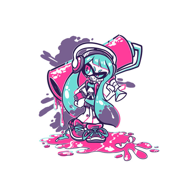 Squid Kid-none stretched canvas-crayonchewer