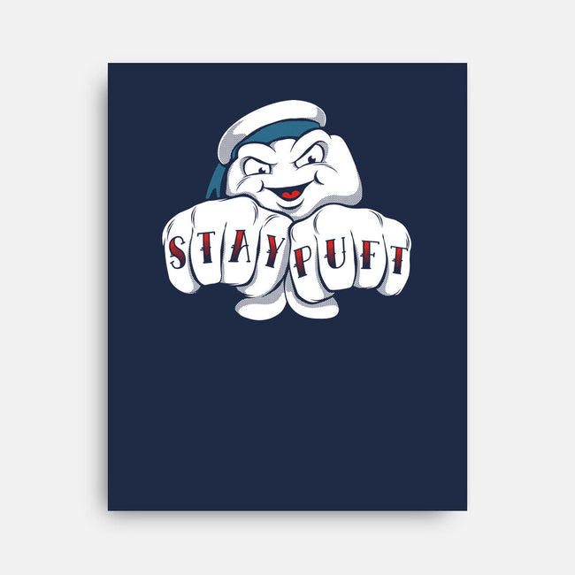 Stay Puft-none stretched canvas-RBucchioni