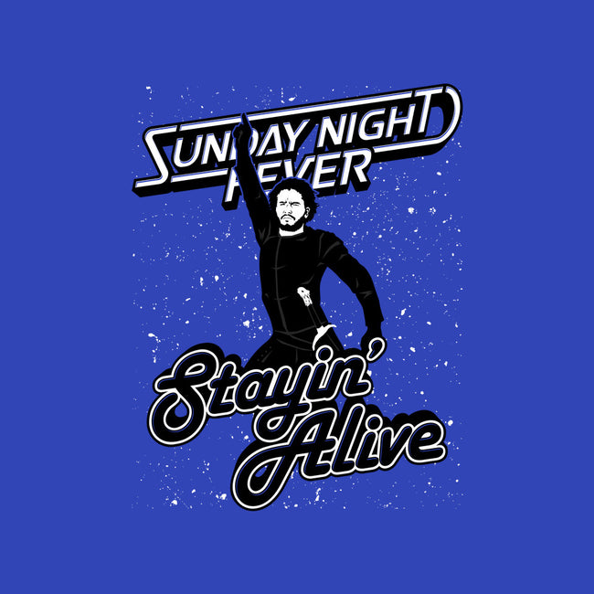 Stayin' Alive-mens heavyweight tee-Stank