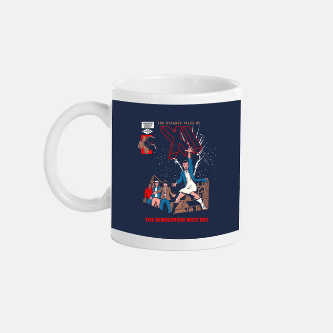 Strange Tales of XI-none glossy mug-foureyedesign
