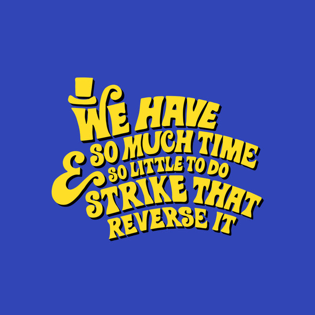 Strike That... Reverse It-none glossy sticker-deanlord