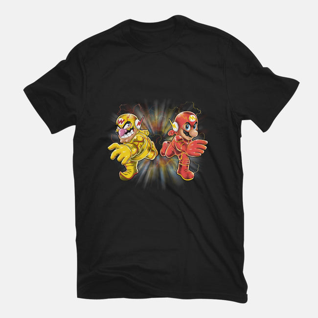 Super Flashy Rivals-mens heavyweight tee-jpzilla