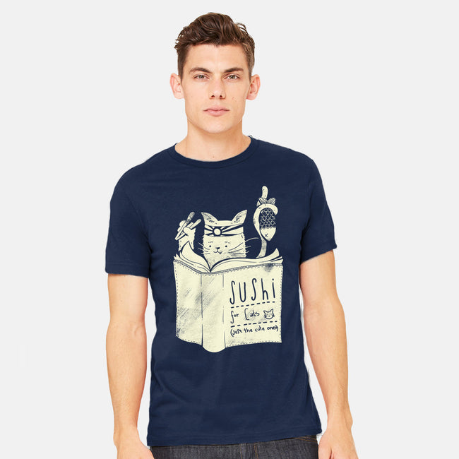 Sushi For Cats-mens heavyweight tee-tobefonseca