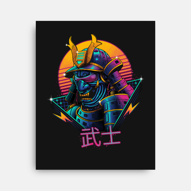 Rad Samurai-none stretched canvas-vp021