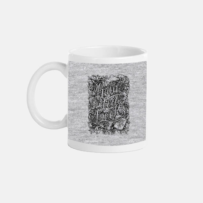 Rain, Tea, & Books-none glossy mug-MedusaD