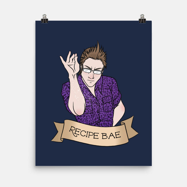 Recipe Bae-none matte poster-Nerdy Mandy