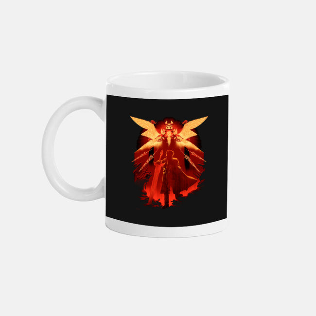 Red Hunter-none glossy mug-max58