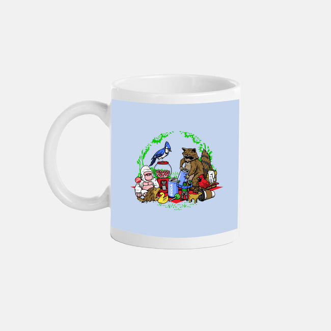 Regular Double Date-none glossy mug-PrimePremne
