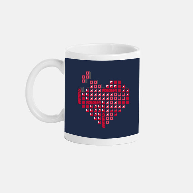 Retro Love-none glossy mug-drbutler
