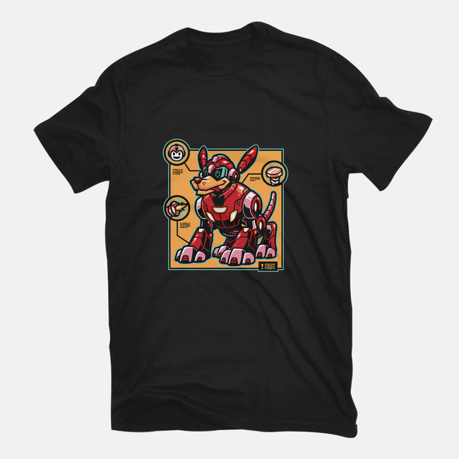 Robots Best Friend-mens heavyweight tee-WinterArtwork