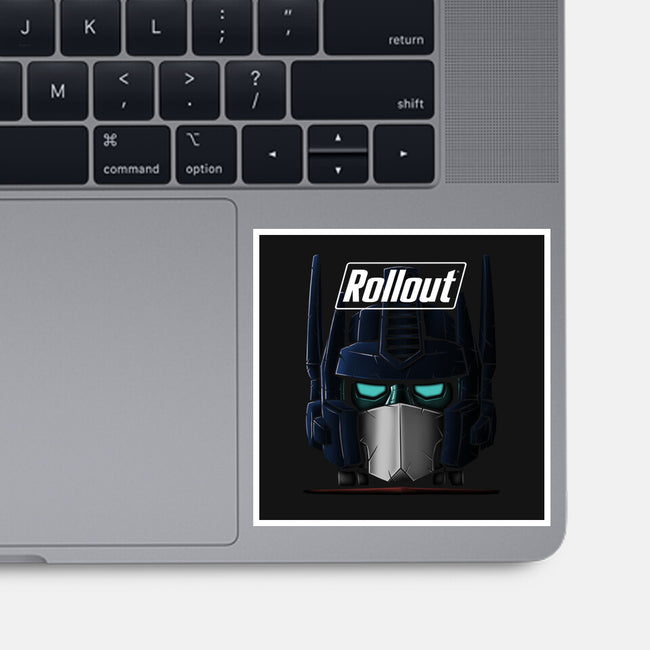 Rollout New Optimus-none glossy sticker-Betmac