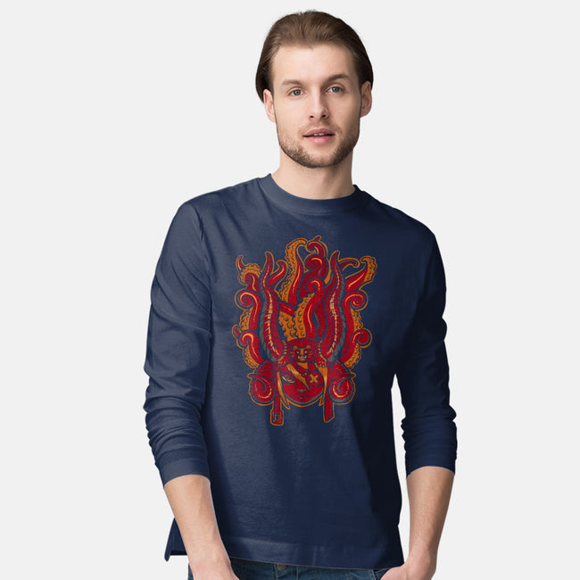 Animal Hat: Redux-mens long sleeved tee-missmonster