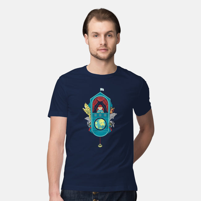 Aquatic Adventurer-mens premium tee-Teo Zed