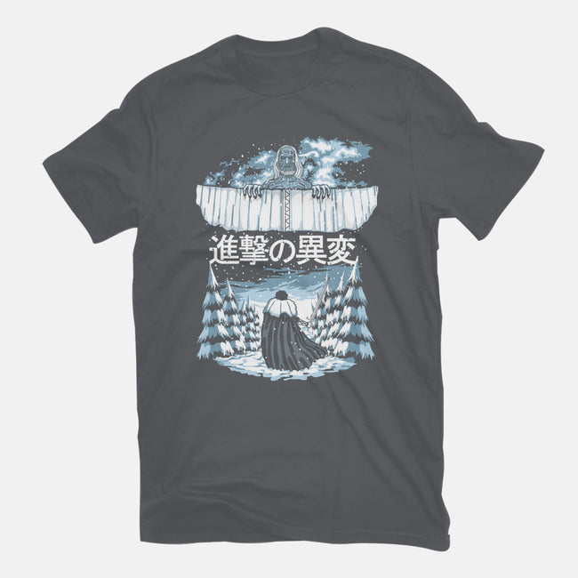 Attack on the Wall-mens basic tee-DavidBear